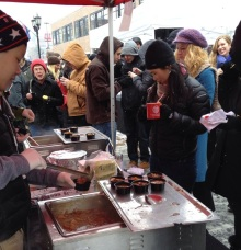 Approximately 5,000 people attended this year's Chili Cook-Off.