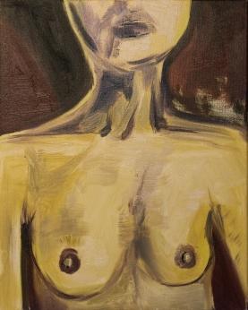 Maroon Nude